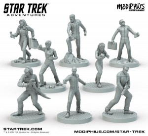 The Next Generation Characters (8 x 32mm Miniatures)