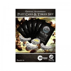 GUILD BALL SEASON 2 PLOT CARD & TOKEN SET