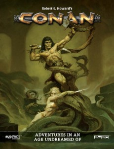 CONAN ROLEPLAYING GAME - CORE BOOK