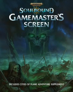 Soulbound Gamemaster's Screen: Warhammer Age of Sigmar Roleplay