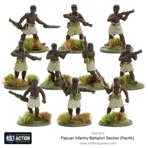 Papuan Infantry Battalion Section
