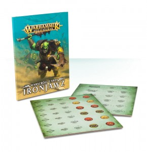 WARSCROLL CARDS: IRONJAWZ (ENGLISH)