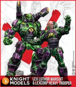 LEX LUTHOR ARMOUR & HEAVY TROOPER (MULTIVERSE)
