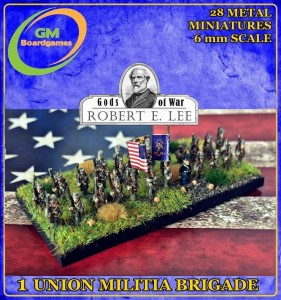 1 UNION MILITIA BRIGADE (FOR 1861)
