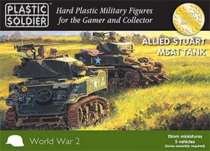 15mm Easy Assembly Stuart M5 Tank