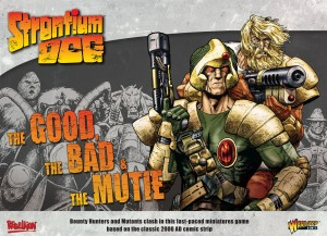 STRONTIUM DOG: THE GOOD, THE BAD & THE MUTIE STARTER GAME