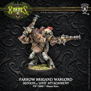 MINION ATTACHMENT FARROW BRIGAND WARLORD
