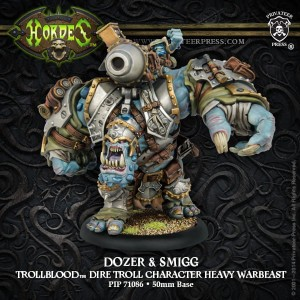 TROLLBLOOD DOZER & SMIGG  & RESIN
