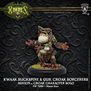 MINION CROAK SORCERERS KWAAK SLICKSPINE & GUB (2)